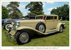 1932 Duesenberg Model J Victoria Coupe by Judkins