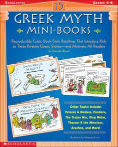 15 Greek Myth Mini-Books - Dollar Deals