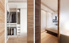 台北 12 坪自然系陽光老公寓 - DECOmyplace 新聞 Open slide door, slide out mirror