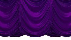 Purple Vertical Curtain