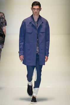 Gucci Spring 2014 Menswear Collection Slideshow on Style.com