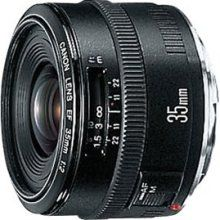 Canon EF Wide-angle lens - 35 mm - F/2.0