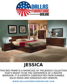 The Jessica Platform #BedroomSet by Coaster is an excellent example of thoughtful #ContemporaryDesign with its rich ash veneers and silver-tone bar handles! You can transform your bedroom will this collection that includes a Queen Platform, mirror, nightstand, & dresser. Get more info and pricing by clicking the pic above or by calling/texting 972-698-0805! #furniture #decorating #bedrooms #beds #dressers #mirrors #nightstands #DFW #Dallas #FortWorth Nightstands, Dressers, Decorating Bedrooms, Queen, Furniture Online, Texting, Bed Frame, Coaster, Contemporary Design