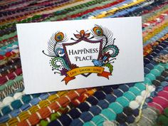 Happiness Place | Business Card | Tinker Creative | Graphic Design Brisbane