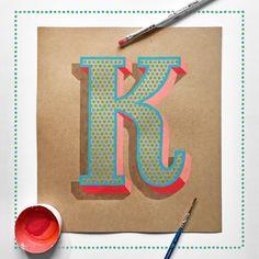 Hand Lettering on Kraft 3 on Behance