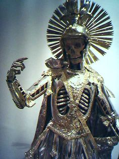 german 18C catacomb skeleton of catholic saint Saint Pancrace (photo Roman Elsener 2005 @Tony Gebely Gebely Wang 51035732979 84090108)