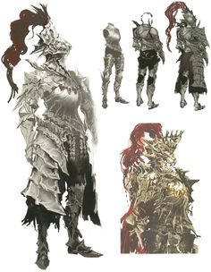 Dragon Slayer Ornstein from Dark Souls