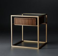 Kennan Tables & Trunks Collection-Walnut (MODCASE15) | RH Modern
