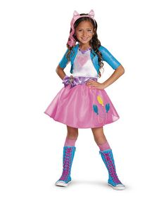 Look at this #zulilyfind! My Little Pony Pinkie Pie Equestrian Deluxe Dress-Up Set - Girls #zulilyfinds