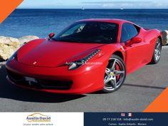 Découvrez et vivez la beauté, passion et puissance avec cette magnifique Ferrari 458 Italia de 2011. Propulsé par son V8 à injection directe qui développe 570 chevaux bénéficiant de technologies issue de la Formule 1 ce mythe roulant est capable d'abattre le 0 à 100 Km/h en seulement 3,4 secondes et d'atteindre 325 km/h...