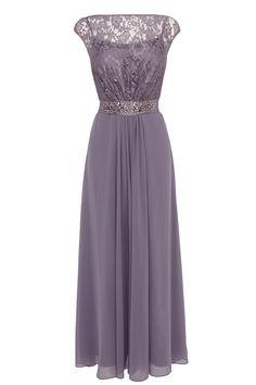 Web Exclusives | Purples Lilacs LORI LEE LACE MAXI DRESS | Coast Stores Limited