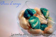 Besitos de merengue