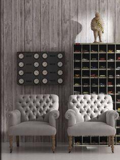 Wood Paneles Wallpaper
