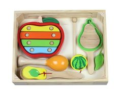Discoveroo Fruit Music Wooden Percussion Playset * Want additional info? Click on the image.