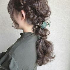 Romantic Hairstyles, Bun Hairstyles, Pretty Hairstyles, Wedding Hairstyles, Hair Inspo, Hair Inspiration, Hair Arrange, Hair Styler, Asian Hair