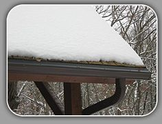 What Causes Roof Ice, Gutter Ice, and Ice Dams. FAQ's for Roof and Gutter Ice Melt Systems. Southern Wisconsin's Source for Roof and Gutter Ice Melt Systems. Ice Dams, Shovel, Outdoor Furniture, Outdoor Decor, Vanity Bench, Ottoman, Snow, Tools, This Or That Questions