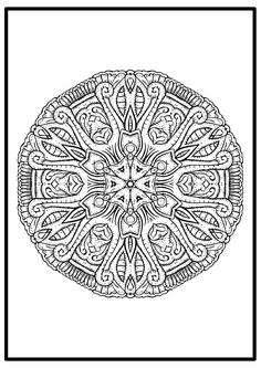 What we need in our life? Colors, a lot of colors. Using coloring page to get relaxing is what we all need. This free mandala picture design is a good start on our journey to be more present in our life.