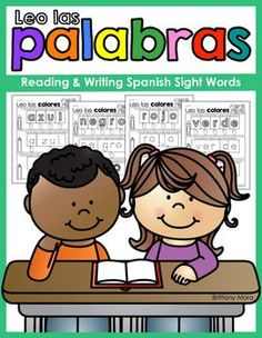 If you are looking for more Spanish Sight Word practice for your elementary students, these activities are perfect for you! On each page, students will identify letter sounds, read syllables, and blend syllables together to form sight words. Students will color, trace, and write each sight word as part of their