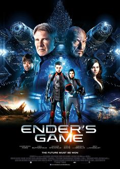 ENDER'S GAME: young Ender Wiggin is recruited by the International Military to lead the fight against the Formics, a genocidal alien race which nearly annihilated the human race in a previous invasion.