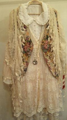 That Little Mori Girl: Photo Vintage Outfits, Robes Vintage, Boho Outfits, Vintage Fashion, Mori Girl, Bohemian Mode, Bohemian Style, Boho Chic, Gypsy Style