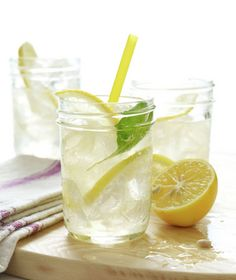 Lemon Soda Tom Collins.  http://www.realsimple.com/food-recipes/browse-all-recipes/lemon-soda-tom-collins-00100000083290/index.html