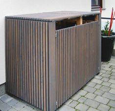 Design Mülltonnenbox & exklusive Mülltonnenverkleidung in Holz There are plenty of things that might lastly Trash Bins, Diy Garden Decor, Storage Bins, Box Design, Advertising Design, Cladding, Outdoor Furniture, Outdoor Decor, Woodworking Shop