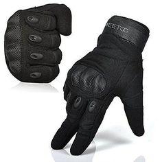 Randonn/ée Gants Gants Camo Combat Airsoft V/élo Plein air V/élo Tir Chasse Paintball Plein Finger Glove Color : Green, Size : S