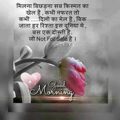 Good Morning Hindi Messages, Morning Images In Hindi, Good Night Hindi, Good Morning Friends Quotes, Good Morning Beautiful Quotes, Good Morning Beautiful Images, Hindi Good Morning Quotes, Good Morning Love, Good Morning Messages