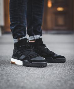 hot sale online f52d9 9f22a Mens size Adidas ALEXANDER WANG AW Bball Black unauthorized shoes