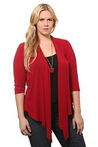 When it doubt, go with red!  Retrieved from torrid.com