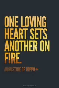 The story of how Burning Hearts Disciples came to be. It all began with one loving heart setting another on fire. St Augustine Quotes, Augustine Of Hippo, Bible Verses Quotes, Me Quotes, Verbatim, Saint Quotes, Catholic Quotes, Spiritual Wisdom, Christian Quotes