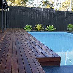 Beautiful, versatile and sustainable Porta Cumaru hardwood decking can be used next to water, and swimming pools, as it doesn't leach. For stockists of Porta timber or mouldings call 1300 650 787 or visit www.porta.com.au