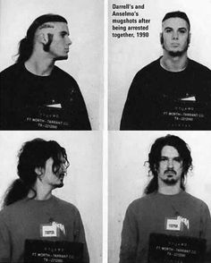 Dime and Phil mugshots.