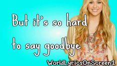 I'll Always Remember You-Hannah Montana