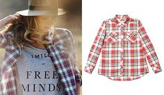 Aida Artiles y la firma de moda Imiloa demuestran que es posible llevar una camisa de cuadros en verano: http://www.estiloymoda.com/articulos/imiloa-camisa-tartan-pv16.php