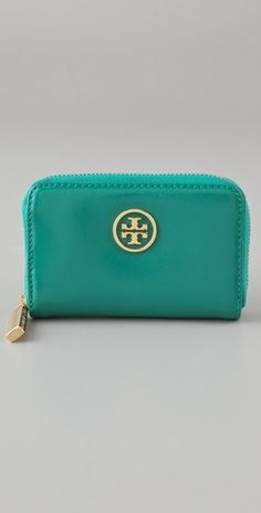 Tory Burch Robinson Zip Coin Case - StyleSays