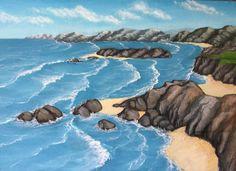 Marina  1 / Oil on canvas 25 x 35 cm