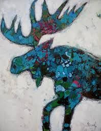 moose art - Google Search