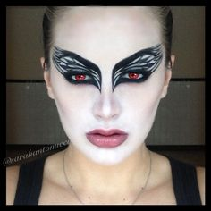 Halloween black swan look