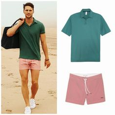 Need the shorty shorts Short Outfits, Cool Outfits, Summer Outfits, Casual Outfits, Casual Clothes, Look Man, Shorty, Beachwear For Women, Men Looks