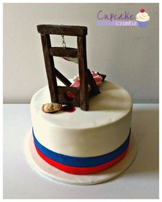 Have French heritage or love French food? Remember Marie Antoinette with yummy Bastille Day recipes and French Revolution food like French Toast Croissants! Mini Cakes, Cupcake Cakes, Cupcakes, Teacher Cakes, Bastille Day, Fondant Icing, French Revolution, French Food, How To Make Cake