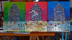 Painting Original #GraçaLeão Mix media ON CANVAS FINE ART CONTEMPORARY 50X120 cm #IllustrationArt