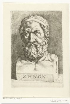 The creation of the art of dialectic is credited to Zeno of Elea, the philosophical champion of Parmenides' claim that the essence of reality is One and unchanging. Zeno was Parmenides' student and protégé and, in defending and defining his mentor's vision, Zeno wrote a series of philosophical paradoxes that established dialectic as the method of philosophical inquiry still used today. Zeno Of Elea, History Encyclopedia, History Education, Chicago Style, New Names, Latest Images, Jaba, Ancient Greece, World History