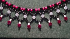 Beading4perefectionists : Netted basic tutorial a little adjusted (beads...