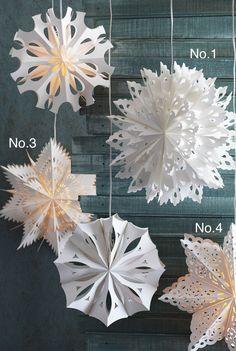 Snowflake Pendant Lamps