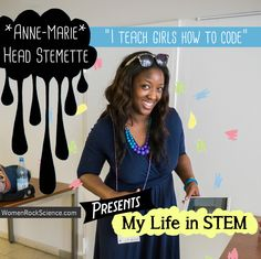 I'm Anne-Marie Imafidon and I'm the youngest girl ever to pass an A-level in Computing (done aged 11 instead of 18) and am one of the youngest to gain a Masters degree in Mathematics and Computer Science from Oxford University (aged 20).  I set up the Stemettes project in 2013 to inspire girls to consider careers in Science, Technology, Engineering and Mathematics (collectivel...