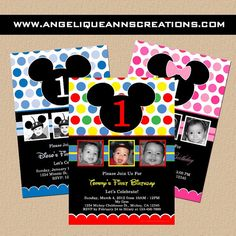 invites, with Disney font