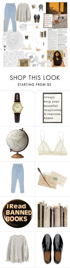 """Juana Inés"" by marysilvs1 ❤ liked on Polyvore featuring McGinn, Sekonda, WALL, Jamie Young, Eberjey, Weston, FitFlop, polyvorecommunity and polyvoreeditorial"