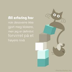 Pipsi & Pipsa Poem Quotes, Qoutes, Poems, Funny Quotes, Motto, Norway, Haha, Cross Stitch, Thoughts