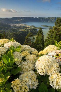 Lagoa das Sete Cidades, São Miguel, Açores, Portugal